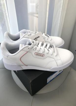 Белые женские кеды adidas roguera оригинал