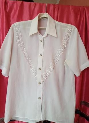 Блуза блузка винтаж