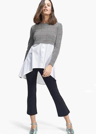 Кофта с имитацией рубашки •stradivarius•