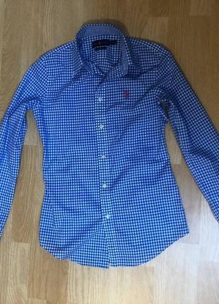 Ralph lauren custom fit , xs/s рубашка женская