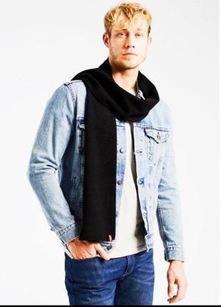 Levi's фирменный шерстяной шарф