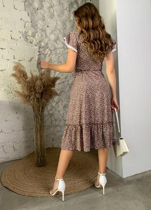Расцветки ! платье принт горох2 фото
