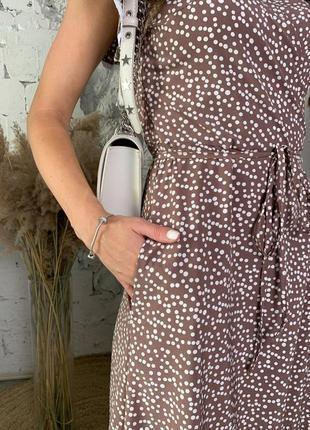 Расцветки ! платье принт горох5 фото