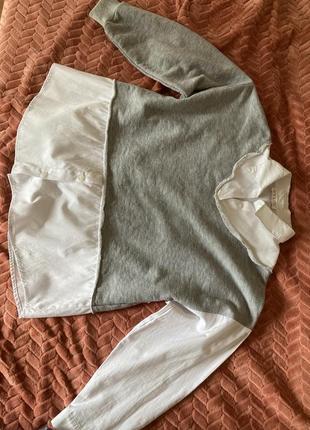 Кофта-рубашка свободная3 фото