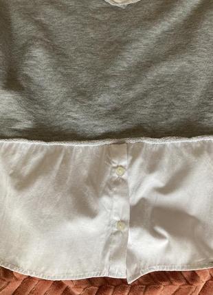 Кофта-рубашка свободная5 фото