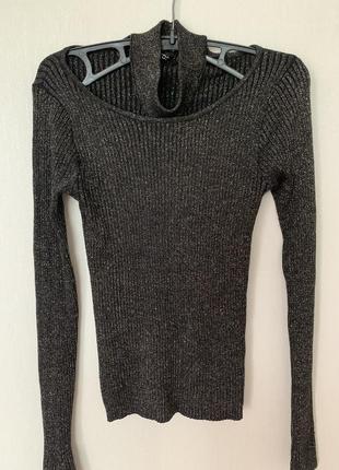 H&m свитер с чокером