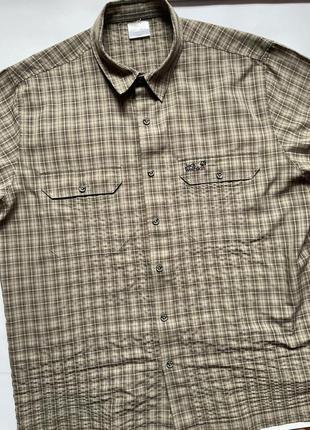 Jack wolfskin сорочка рубашка тенниска туристическая трекинговая