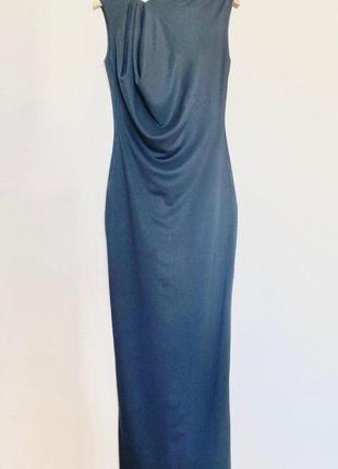 Трикотажна сукня-максі cos / платье cos