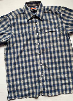 Nordcap туристическая трекинговая сорочка рубашка тенниска теніска