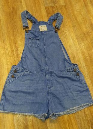 Комбинезон джинсовый женский1 фото