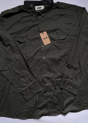 Сорочка рубашка туристическая трекинговая тактическая military олива хаки военная армейская