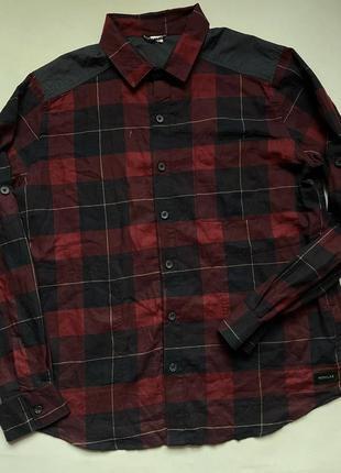 Forclaz сорочка рубашка тактическая military трекинговая туристическая клетка