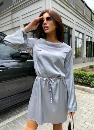 Шёлковое платье 👗
