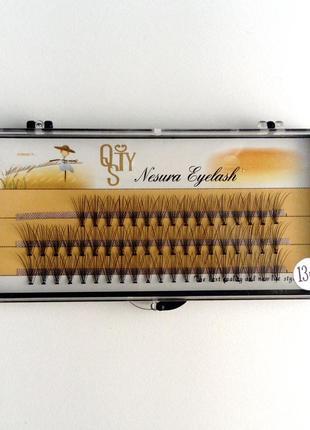 Накладные ресницы пучки nesura 13 и 15 мм