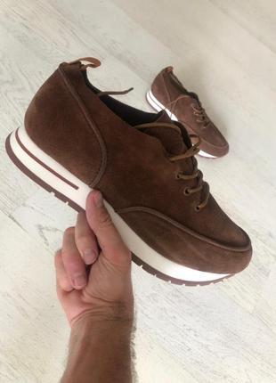 Супер стильные мужские замшевые кросовки loro piana (лоро пьяна) весна -осень 41.5