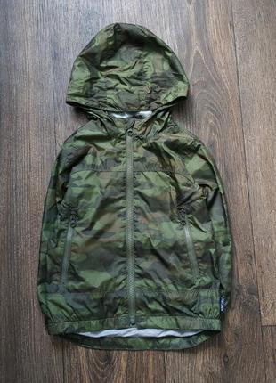 Ветровка комуфляжная, лагкая курточка цвета хаки