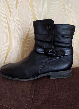 Кожаные ботинки, полусапожки 5th avenue 40 р