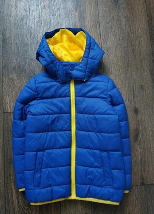 Стёганая куртка, курточка демисезонная 4-6 лет