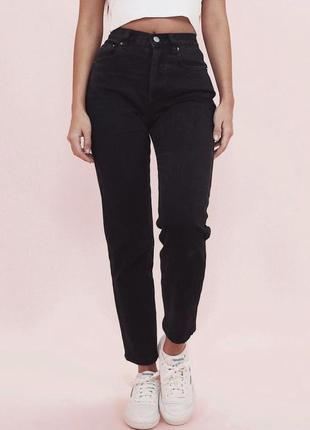 Черные прямые базовые джинсы levis 511 размер w30 l