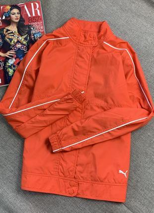 Оранжевый пиджак куртка puma оригинал