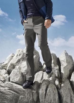 Мужские функциональные брюки р.54/германия, функция сокращения длины до 3/4