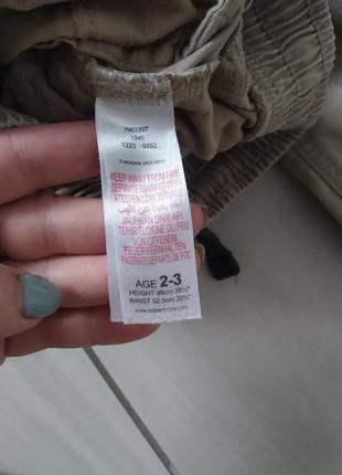 Штани джинси 2-3 роки bluezoo6 фото