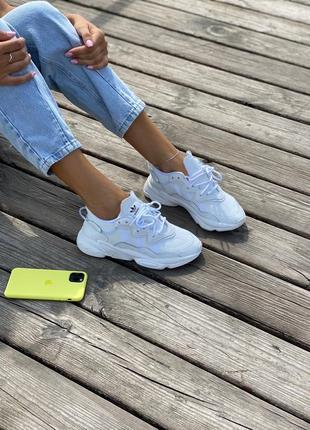 Женские кроссовки adidas ozweego.