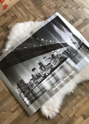 Постер с нью-йорком