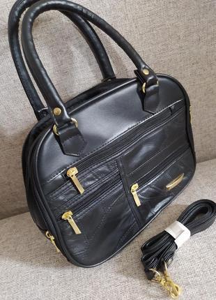 👍♥️😍чудова сумочка з короткими та довгими ручками