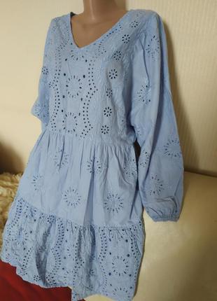 Платье прошва сарафан туника