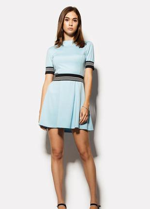 Платье cardo concept голубого цвета размер хs 42(36)