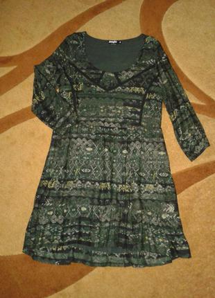Платье, туника фирмы jennyfer, на подкладке для беременных