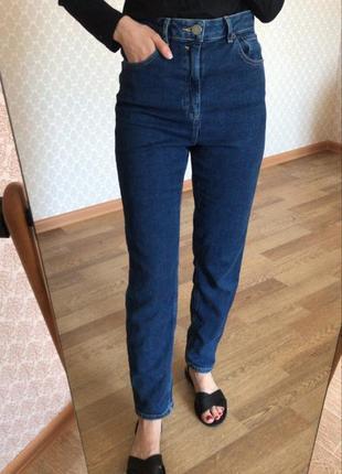 Идеальные синие джинсы на завышенной посадке от asos