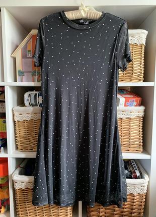 Платье в горошек: горох1 фото