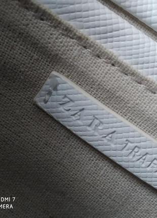 Сумочка біла zara8 фото