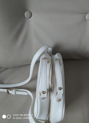 Сумочка біла zara5 фото