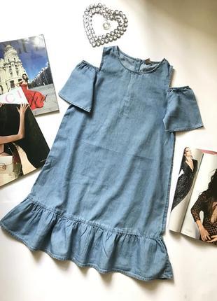 Платье из легкого коттона