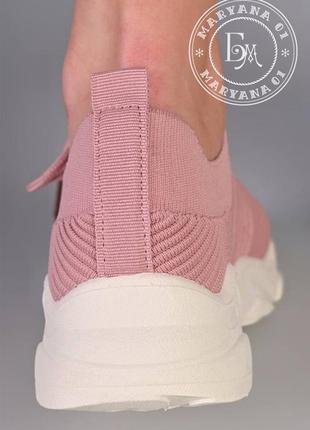 Ультрамодные летние кроссовки / пудра9 фото