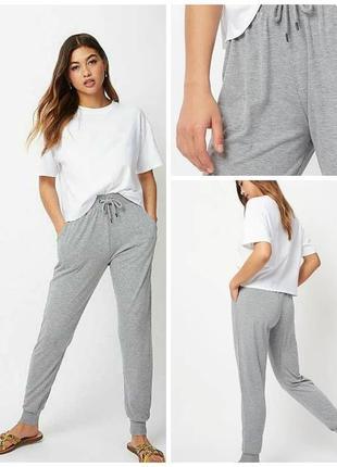Спортивные штаны джогеры на флисе 52-54 размера