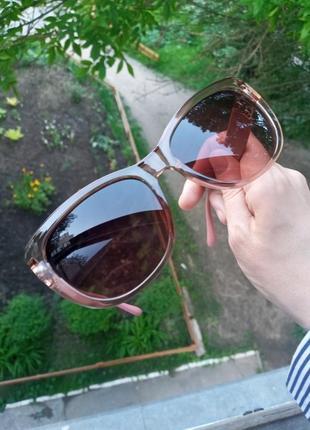 Стильные женские очки кошки очки лисий глаз в прозрачной оправе италия4 фото