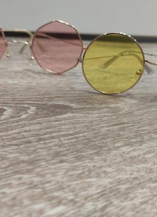 1+1=3 очки жёлтые, розовые2 фото