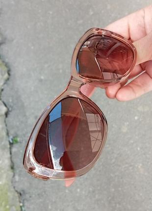 Стильные женские очки кошки очки лисий глаз в прозрачной оправе италия3 фото