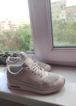 Nike оригинал белые летние кроссовки сетка1 фото