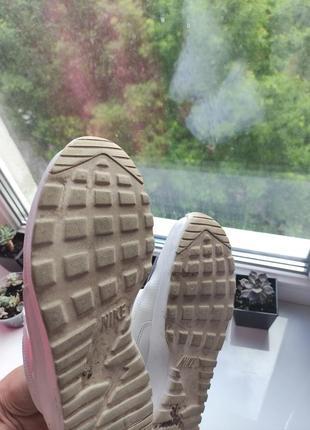 Nike оригинал белые летние кроссовки сетка6 фото