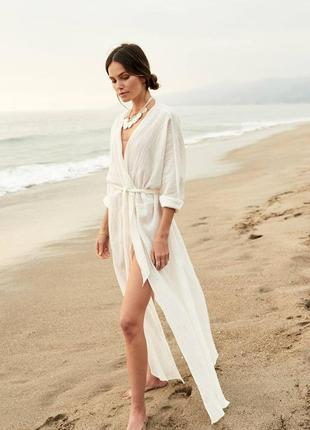 Пляжна туника. пляжная накидка
