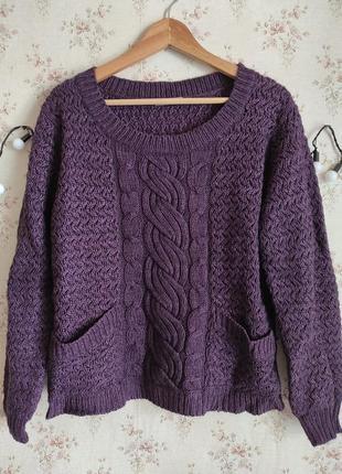 Тёплый акриловый свитер от tu, р.16