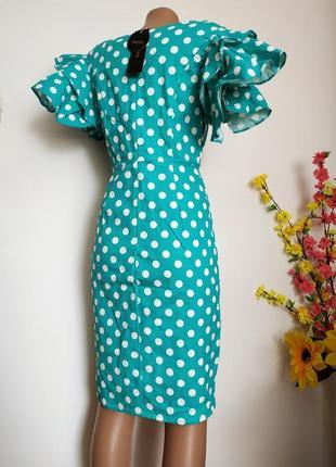 Хлопковое платье-карандаш