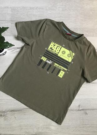 Детская футболка на мальчика puma  12/152