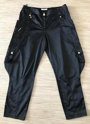 Стильные и необычные брюки черного цвета от брэнда lasagrada в размере 44 (укр.50-54)