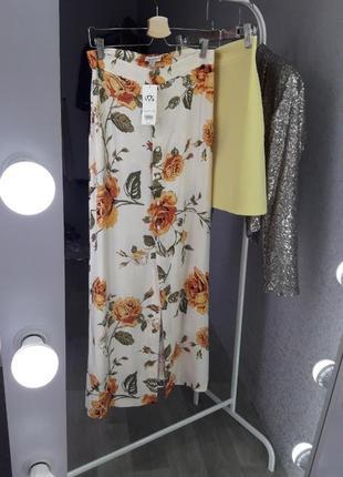 Юбка макси | юбка хлопок | цветочная юбка | длинная юбка | юбка в цветочный принт | юбка